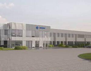 rozbudowa zakładu, roboty montażowe, obiekt kubaturowy, żelbety technologiczne, budynek socjalny, hala produkcyjna
